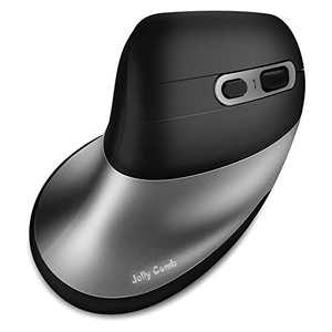 Bluetooth Ergonomic Mouse for Mac,Rechargeable Jelly Comb Wireless Bluetooth Vertical Mouse,2.4G Wireless Mice 5 Button and 3 Adjustable DPI for Laptop/MacBook/Computer/Ipad pro/Windows