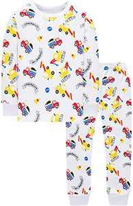 Christmas Trucks Pajamas For Boys Children Clothes Kids Cotton Pyjamas Pants Ser 10t