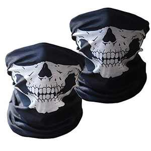 Neck Gaiter (2 Pack), Face Cover Scarf, Bandana Headwear,Cool Breathable