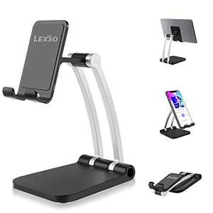 Cell Phone Stand for Desk, Angle & Height Multi-Joint Universal Adjustable Cell Phone Holder/Tablet Stand, Phone Dock, Desk Phone Holder Suitable for iPhone/ipad/Galaxy Samsung/Nintendo Switch