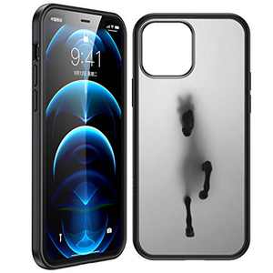 Humixx Defense iPhone 12 Mini Case [Military Grade Shockproof] [Support Magsafe/Magnetic Wallet] Sleek Matte Hardcase, Protective Sillicon Bumper, Slim Case Cover for iPhone 12 Mini-Translucent Black