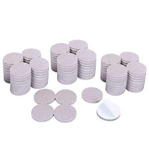Ezprotekt 120 Value Pack Furniture Pads 1-1/2 Inch Self Adhesive Furniture Feet Felt Pads 5mm Thick Anti Scratch Floor Protectors for Desk Chair Legs