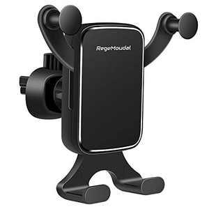 Car Phone Holder RegeMoudal Vent Holder Gravity Mount Holder for Car, 360 Adjustable Universal Air Vent Mount Cell Phone Holder Horizontal & Vertical Place for iPhone Samsung All Smartphone and More