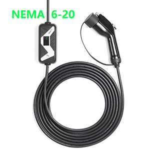 Southking Level 1-2 EV Charger Cable (85-265V, 10/20A,) Portable EVSE Electric Vehicle Charging Station for Chevy Volt,Tesla Model and All Type 1 (SAE J1772 Standard (NEMA6-20 and NEMA5-150)