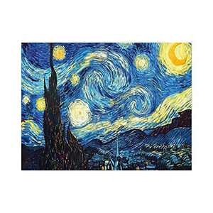 AMEMNY DIY 5D Starry Sky Diamond Painting Kits for Adult Painting by Number Kit Round Drill Embroidery Cross Stitch Landscape Diamond Painting Set for Indoor Wall Decoration Gifts Arts and Crafts