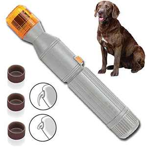 ZLZB Pet Dog Nail Grinder, Pet Nails Trimmer for Small and Medium Dogs, Dog Paws Nails Grooming,Dog Nail Clippers,Dog Nails Trimmer,Painless & Quiet Pet Nails Grinder