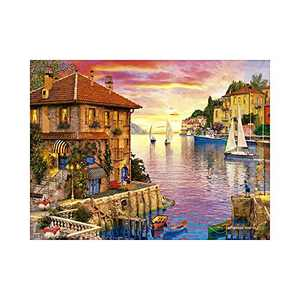 AMEMNY DIY 5D Venice Landscape Diamond Painting Kits for Adult Painting by Number Kit Round Drill Embroidery Cross Stitch Boat Diamond Painting Set for Indoor Wall Decoration Gifts Arts and Crafts