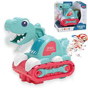 Baby Toys 12+ Months Musical Dinosaur Learning Baby Toys 12-18 Months, Lights Music Toys for 1 Year Old Boys Girls Toddler Toys Crawling Cognitive Learning Developmental Toys