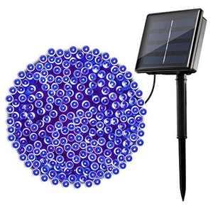 22M/72ft Solar Lights Outdoor Garden, OxyLED 200 LED Outdoor Solar Powered Garden Lights 8 Modes Solar Fairy Lights Decorative Light for Garden Home Wedding Party Christmas Halloween (Blue)