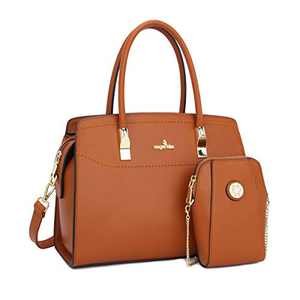 Angel Kiss Women Handbags and Purses Top Handle Satchel Purses Designer Tote for Women Work Bag with Wallet
