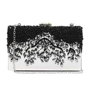 YKB Women Purses and Handbags Evening Bag Envelope Shoulder Bag Clutch Handbag Rhinestone Purse Crossbody Bag for Wedding Party