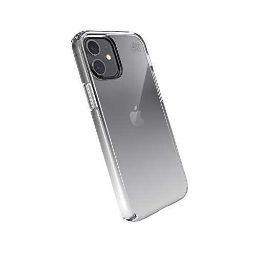 Speck Products Presidio Perfect-Clear Ombre iPhone 12 Mini Case, Clear/Atmosphere Fade