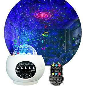 Galaxy Projector Star Night Light Projector Sky Lights for Bedroom 27 Lighting Ambiance with Bluetooth Music Speaker for Party Kids Adult Bedroom Birthday Home Theatre Night Light Projector