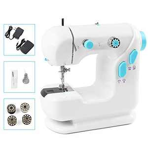 ZXMT Portable Sewing Machine Mini Sewing Machine for Beginners Adults with Foot Pedal