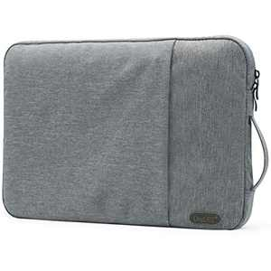 OneGET Laptop Sleeve for 2020 13-13.3 inch MacBook Pro, MacBook Air, Notebook ComputerInternal Fluff Laptop Bag with Accessory Pocket Protective Carrying Case Cover Light Grey(13-13.3Inch, S101)