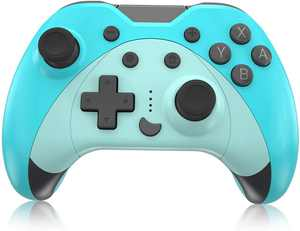 KINGEAR Graduation Gifts Game Controller for Switch, Easter Day Gifts for Men and Women, Gifts for Gamers Kawaii Game Controllers, Have Fun with Switch Animal Crossing, Mario Party Games