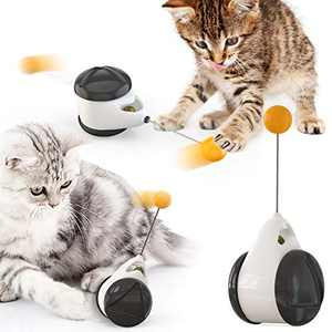 FYATTVA Cat Toys for Indoor Cats Interactive Catnip Toys Cat Chasing Toy The Best Gift for Cats
