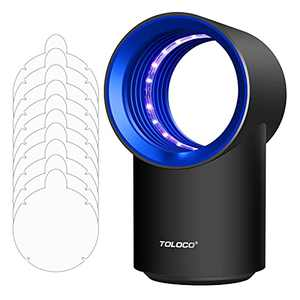 FVOAI Mosquito Traps, Indoor Insect Trap, Flying Bugs Trap Fruit Fly Mosquito Killer with 10 Sticky Glue Boards Mosquito Eradicator