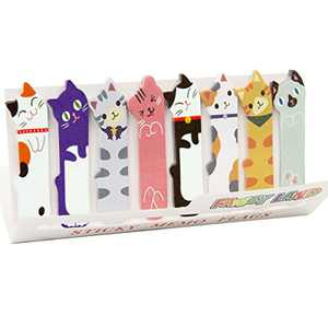 360 Cute Cat Sticky Notes Page Flags Index Tabs for Cat Lovers Kids Office School Gift Idea
