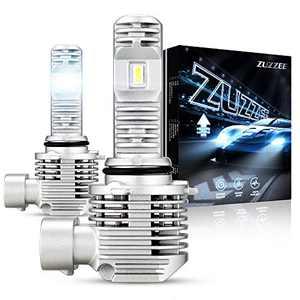ZUZZEE 9005/HB3 High Beam LED Headlight Bulbs 50W 12000LM Super Bright Headlights 6000K Cool White LED Conversion kit, Pack of 2