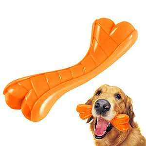 FURTOM Dog Toys for Aggressive Chewers, Lifetime Replacement Guarantee, Dog Chew Toy, Interactive Indestructible Dog Toys for Small Medium Dogs Christmas Dog Toys