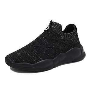 Damyuan Kids Slip On Sock Shoes Casual Knit Breathable Running Fashion Sneakers Loafers