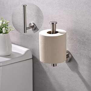 AMAZING FORCE Brushed Nickel Toilet Paper Holder Bathroom Toilet Paper Holder Wall Mount Stainless Steel RV Toilet Paper Holder