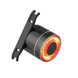 G Keni Smart Bike Tail Light Auto On Off Bicycle Rear Flashlight High Lumen Waterproof Road Cycling Light Rechargeable