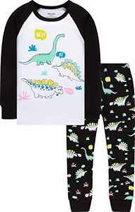 Children Christmas Pajamas Boys Girls Kids Dinosaurs Pjs Baby Boys Pants Set Size 5