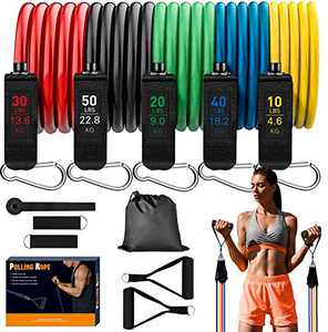 JOLIGHT Resistance Bands, Workout Bands for Home Workouts Physical Therapy Gym Training Yoga