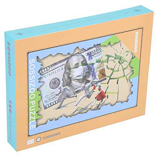 Jigsaw Puzzles for Adults 500 Piece Abstract Funning Pursuing Dollar Best Gift