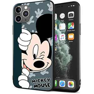 DISNEY COLLECTION iPhone 11 Pro Max Case 6.5 Inch,Mickey Cute Cartoon Soft Flexible TPU Ultra-Thin Shockproof Bumper Protective Cover,Scratch-Resistant and Fade-Resistant Case for iPhone 11 Pro Max