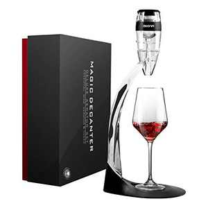 Wine Air Aerator, AWANFI Red Wine Pourer and Decanter Stand Set to Smoother Flavours of Wine Instantly, Includes Tower, Base, Arm Support, Filter and Gift Box, Gift for Wine Lover