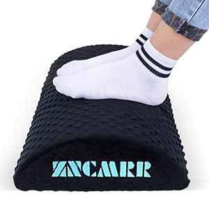 Office Foot Rest Under Desk, Foot Rest Cushion Desk Feet Support Improve Blood Circulation and Reduce Fatigue, Comfortable Under Desk Foot Stool for Home and Office