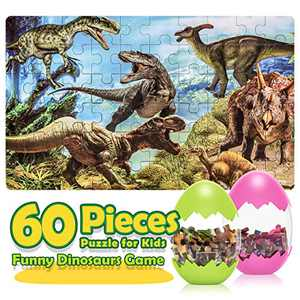Dinosaur Puzzles for Kids Ages 3-8,Toys for 3-8 Year Old Boys Girls Gifts for 3-8 Year Old Girls Boys Toys for Kids Age 3-8 Educational Learning Toys for Preschool Kindergarten Toddlers