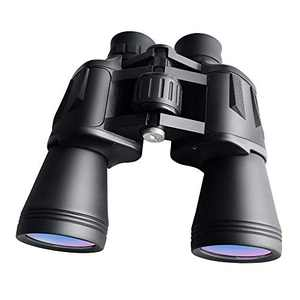 WHHW 10 x 50 Powerful HD Binoculars for Adults, Binoculars for Travel Sightseeing Hunting Bird Watching,Waterproof High Magnification Compact Binoculars for Sports Games Outdoor or Concerts