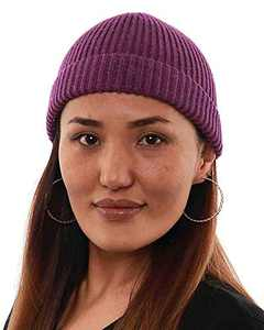 kejea Beanie Hats Men Women Ski Slouchy Bling Cap Winter Shiny Knit Sleep Skull