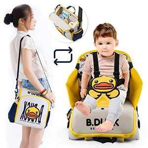 2 in 1 Portable Traveling Dining Chair Bag-Diaper Bag, Bottle Backpack