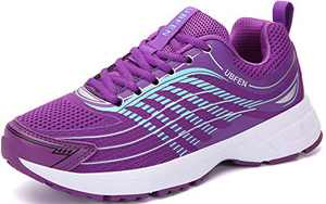 UBFEN Womens Running Shoes Athletic Walking Sneakers Purple