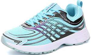UBFEN Womens Running Shoes Athletic Walking Sneakers Mint Green