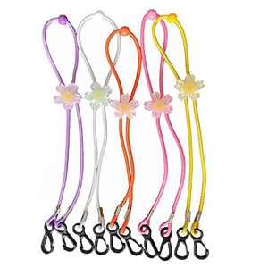 5/6 Pack Adjustable Mask Lanyard for Kids Boys Girls Children/Adults, Around-Neck Badge Lanyards Strap Holder Hanger for Mouth Face Covers Rest Ear Saver for School Outdoor (Mixed 1)