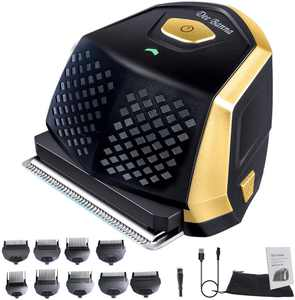 Dee Banna Hair Clipper, Cordless Electric Hair Trimmer, Mini Protable Head Shaver Barber Grooming Cutter Kit, Contain USB Cable and 9 Guide Combs