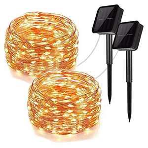 LED Solar Light String-Christmas Decoration Lantern 12m 100 Lights (Remote Control)
