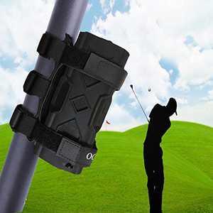 Geserhoo Speaker Mount for Golf Cart, Adjustable Strap Fits Most Wireless Speaker Portable Holder Attachment to Golf Cart Railing/Bike/Frame