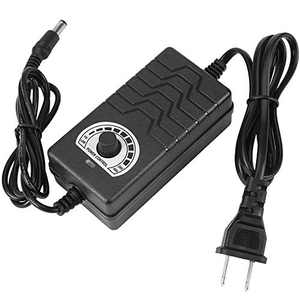 AC to DC Power Adapter 100-240V to 1-24V (2A) Adapter Converter with US Plug for Electric Drill Motor Speed Controller