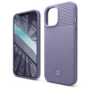elago Protective Cushion Case Compatible with iPhone 12 Pro Max (2020) [Lavender Grey] - Shock Absorbing Design, Wireless Charging Supported