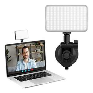 Laptop Video Conference Lighting Kit, VIJIM Zoom Light for Computer, Webcam Light for Remote Working/Video Conferencing/Self Broadcasting and Live Streaming with Upgrade Suction Cup