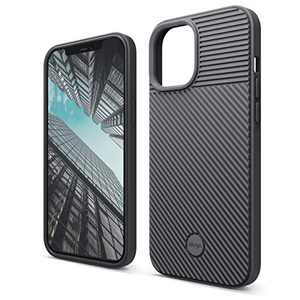 elago Protective Cushion Case Compatible with iPhone 12 Pro Max (2020) [Graphite Grey] - Shock Absorbing Design, Wireless Charging Supported