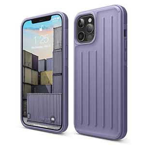 elago Protective Armor Case Compatible with iPhone 12 Pro Max [Lavender Grey] - Shock Absorbing Design, Durable TPU, Wireless Charging Supported