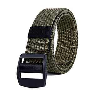 TOUGERJOY Mens 1.5 Inch Quick Release Tactical Belt Heavy Duty Metal Buckle Military Belt Nylon Hunting Belt
